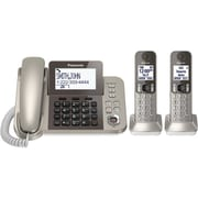 Panasonic Dect 6.0 Corded/cordless Phone System With Caller Id & Tad (2 Handsets)