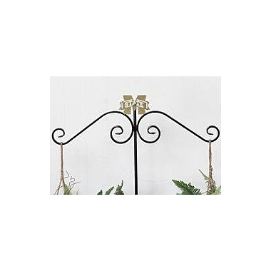 HensonMetalWorks Collegiate Dual Outdoor Plant Hanger; Mississippi State