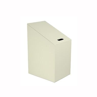 WS Bath Collections Diagonal Laundry Hamper; Beige