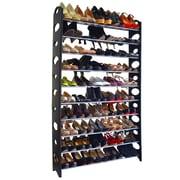 Maison Condelle Studio 707 10-Tier Shoe Rack; Black