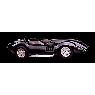 Corvette Lister 327 de 1958, affiche de 12 x 36 po