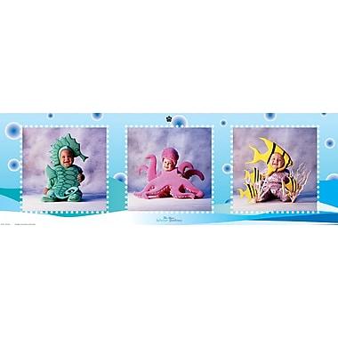 Bébés dans l'eau, affiche de 12 x 36 po