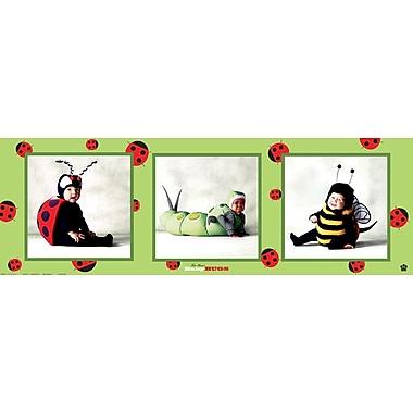 Enfants déguisés en insectes, affiche de 12 x 36 po