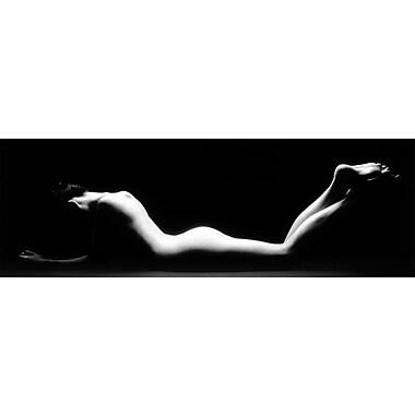 Paysage féminin, affiche de 36 x 12 po