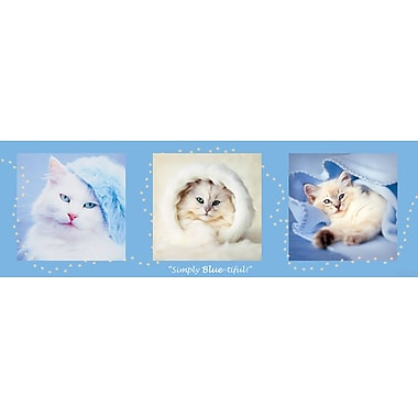Affiche Simply Blue-tiful, 12 x 36 po