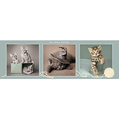 Affiche chatons adorables, 12 x 36 po