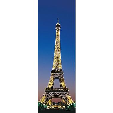 Affiche tour Eiffel à Paris, 12 x 36 po