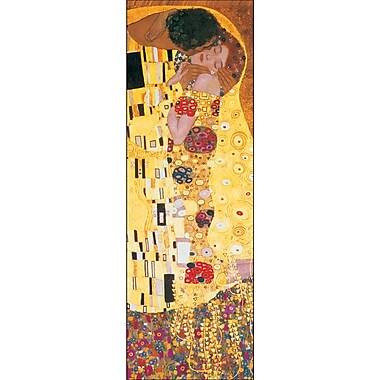 Affiche Le baiser de Klimt, 12 x 36 po