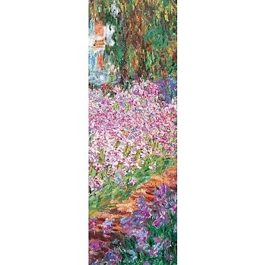 Affiche Le jardin de Monet, 12 x 36 po