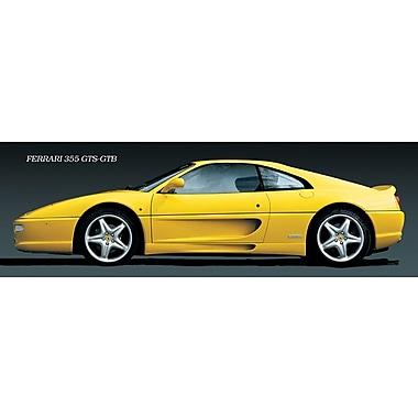 Affiche Ferrari 355 GTS GTB, 11 3/4 x 35 3/4 po