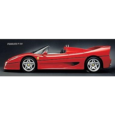Affiche Ferrari F50, 11 3/4 x 35 3/4 po