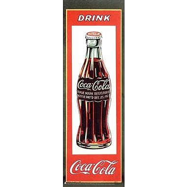 Affiche Coca-Cola, Drink Coca Cola, 12 x 36 po