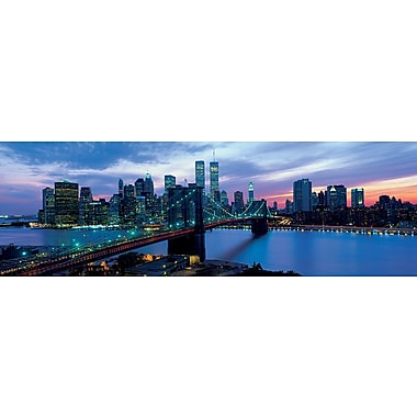 New York Skyline at Night Poster, 12