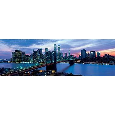 New York Skyline at Night Poster, 12