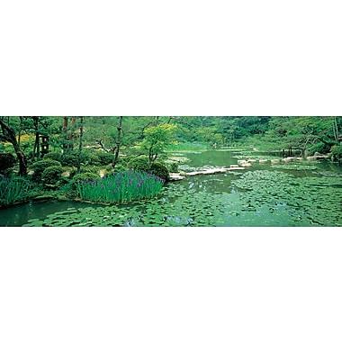 Affiche jardin japonais, 11 3/4 x 35 3/4 po