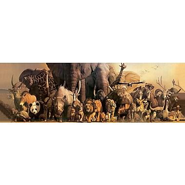 Affiche arche de Noé par Takino, 11 3/4'' x 36''