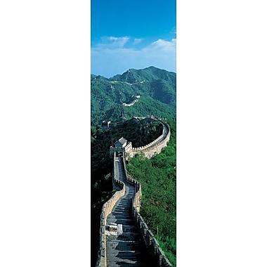 Affiche Grande Muraille de Chine, 11 3/4 x 35 3/4 po