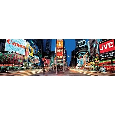 Affiche Times Square de New York, 35,25 x 11,75 po