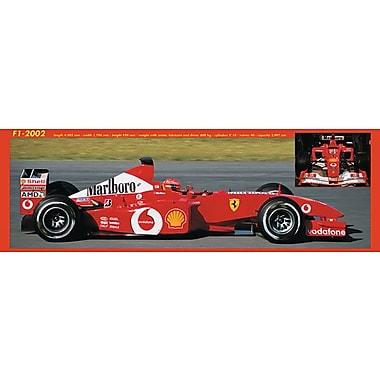 Affiche Ferrari F1 2002, 11 3/4 x 35 3/4 po