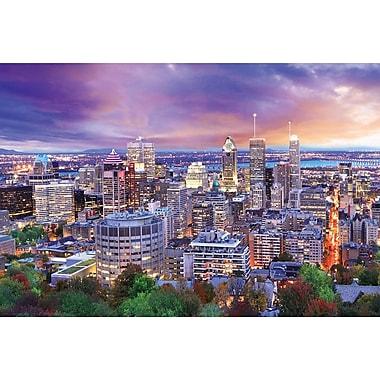Affiche collection de villes Montréal, 36 x 24 po