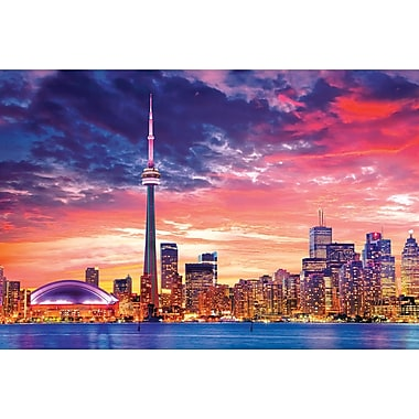 Affiche collection de villes Toronto, 36 x 24 po