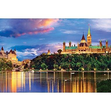 Affiche collection de villes Ottawa, 36 x 24 po