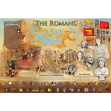 Affiche Les Romains, 24 x 36 po