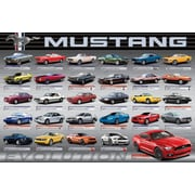 "Ford Mustang Evolution 50th Ls Poster, 36"" x 24"""