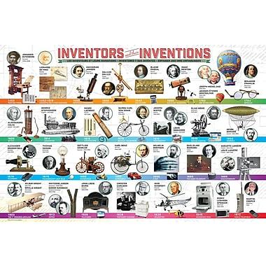 Affiche les grandes inventions, 36 x 24 po