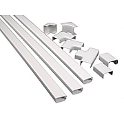 Wiremold® CordMate II Plastic Channel Kit, White