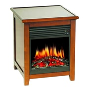 Stonegate Wood Electric Fireplace