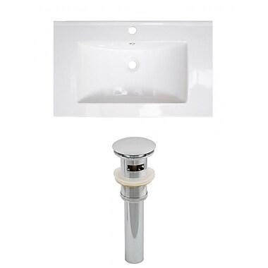 American Imaginations Roxy Drop-in 32'' Single Bathroom Vanity Top