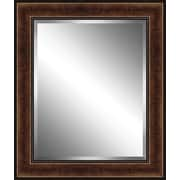 Ashton Wall D cor LLC Traditional Wood Framed Beveled Plate Glass Mirror; Small