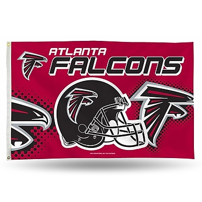 Rico Industries NFL Banner Flag; Atlanta Falcons WYF078277219925