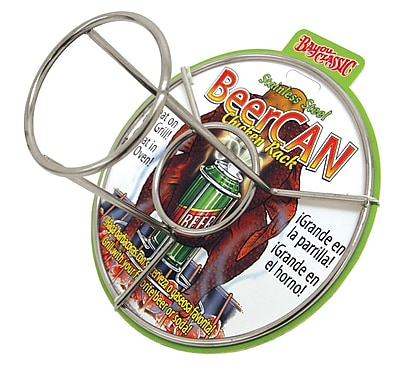 Bayou Classic Beercan Chicken Rack Roaster WYF078277300364