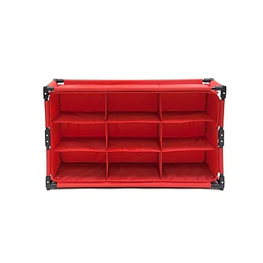 Origami Rack Everything Organizer, 2 Pack, Red