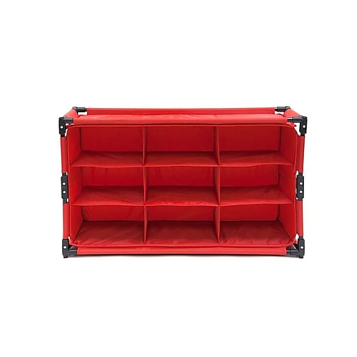 Origami Rack Everything Organizer 2 Pack Red Staples