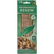 Renew Recycled Pencil, Hb, #2, Natural Finish, 10/Pk