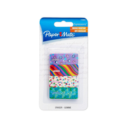 Paper Mate Expressions Decorated Erasers, 4/Pack (1734931)