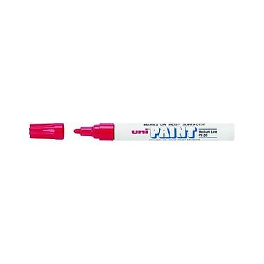 Uni Paint Medium Bullet Tip Marker, Red, 12/Pack (63602DZ)