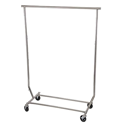 Household Essentials Expandable Garment Rack, Stainless Steel (3305-1)