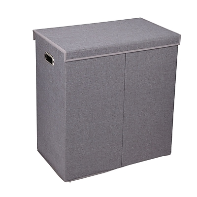 Household Essentials Collapsible Sorter with Lid, Gray (5622)