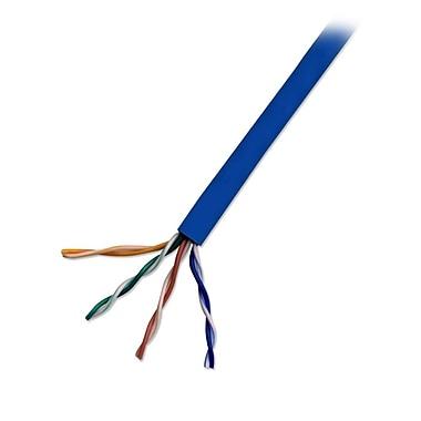 Electronic Master – Câble réseau CAT5e UTP de 1000 pi, 8 x 14 x 14 po, bleu