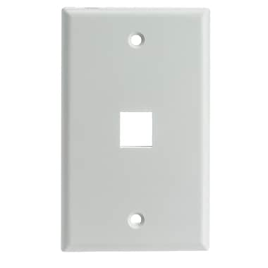 Digiwave Keystone Wall Plate, 1 Slot, 5