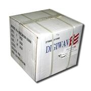 Digiwave – Câble coaxial RG58 de 500 pi tressé à 90 %, 5,5 x 13 x 13 (po), noir
