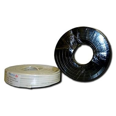 Digiwave – Câble coaxial RG59 de 100 pi tressé à 90 %, 3,2 x 6,3 x 6,3 po, noir
