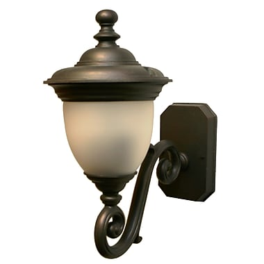 Melissa Tuscany 2-Light Outdoor Sconce; Old Iron
