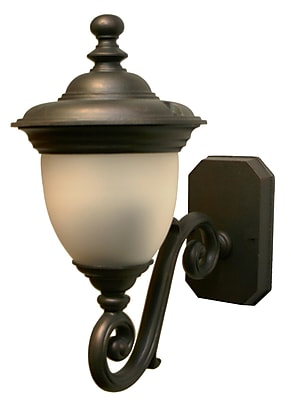 Melissa Tuscany 2-Light Outdoor Sconce; White