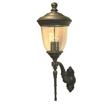 Melissa Tuscany 4-Light Outdoor Sconce; Patina Bronze