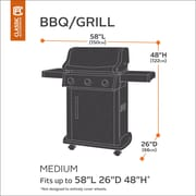 Classic Accessories Classic BBQ Grill Cover; Medium